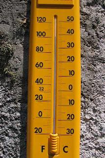 Bijna 40 graden celcius in juli