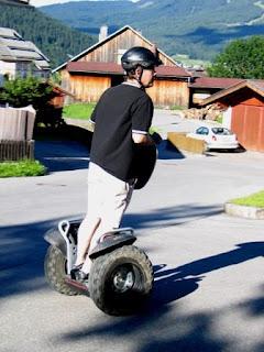 Segway roller in Lermoos