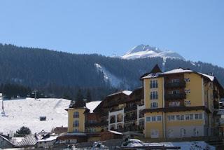 Hotel Post in de winter