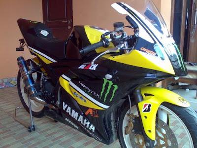 Modif Yamaha Tzm   Gambar Modifikasi Honda Terbaru