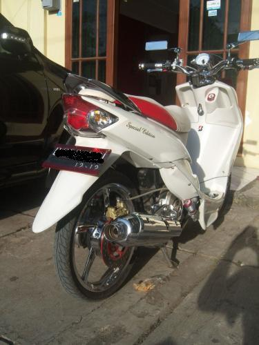 ide modifikasi stang mio sporty