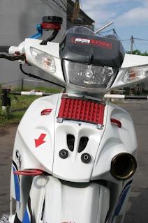 Super Modif Yamaha Vega R