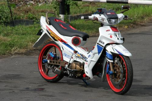 Incredible Drag Race  MODIFIKASI Yamaha Vega R 2004