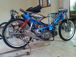 Modifikasi Drag Racing Motor Drag Race Terbaru 2013