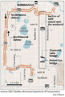 I-35 detour