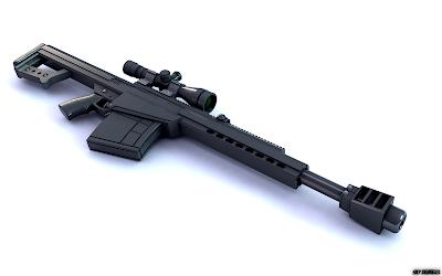 El rifle mas potente del mundo perforador de blindaje