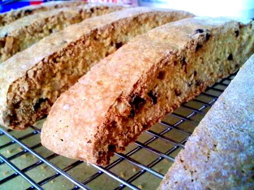 The Inner Gourmet: Cranberry - Almond Biscotti