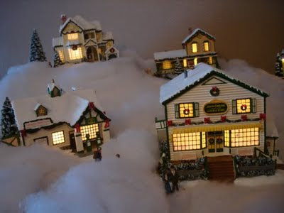 Home Depot Christmas Village
