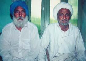 रफी के दोस्त कुंदन सिंह और दिवंगत बख्शीश सिंह