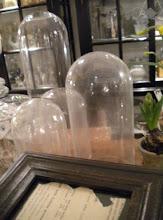 Vecchie campane di vetro