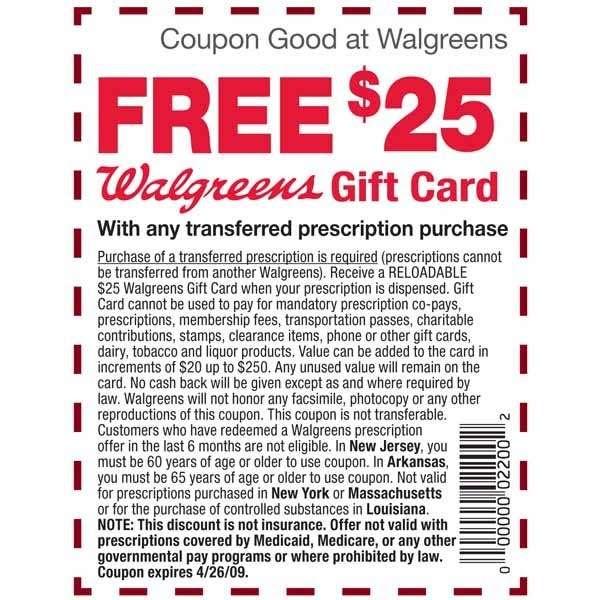 Walgreens contact coupon code 25