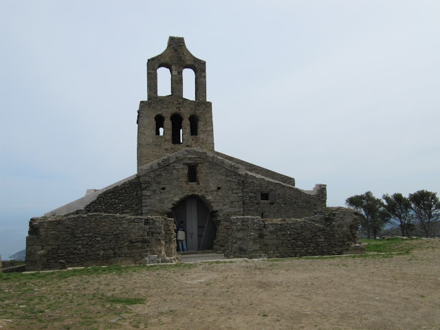 iglesia de  Santa Cruz de Rodes