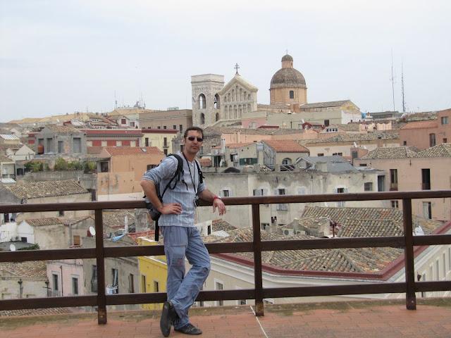 vistas torre del elefante, Cagliari
