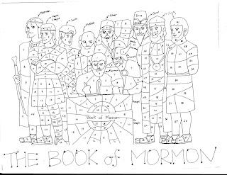 Image Result For November Mormon Coloring