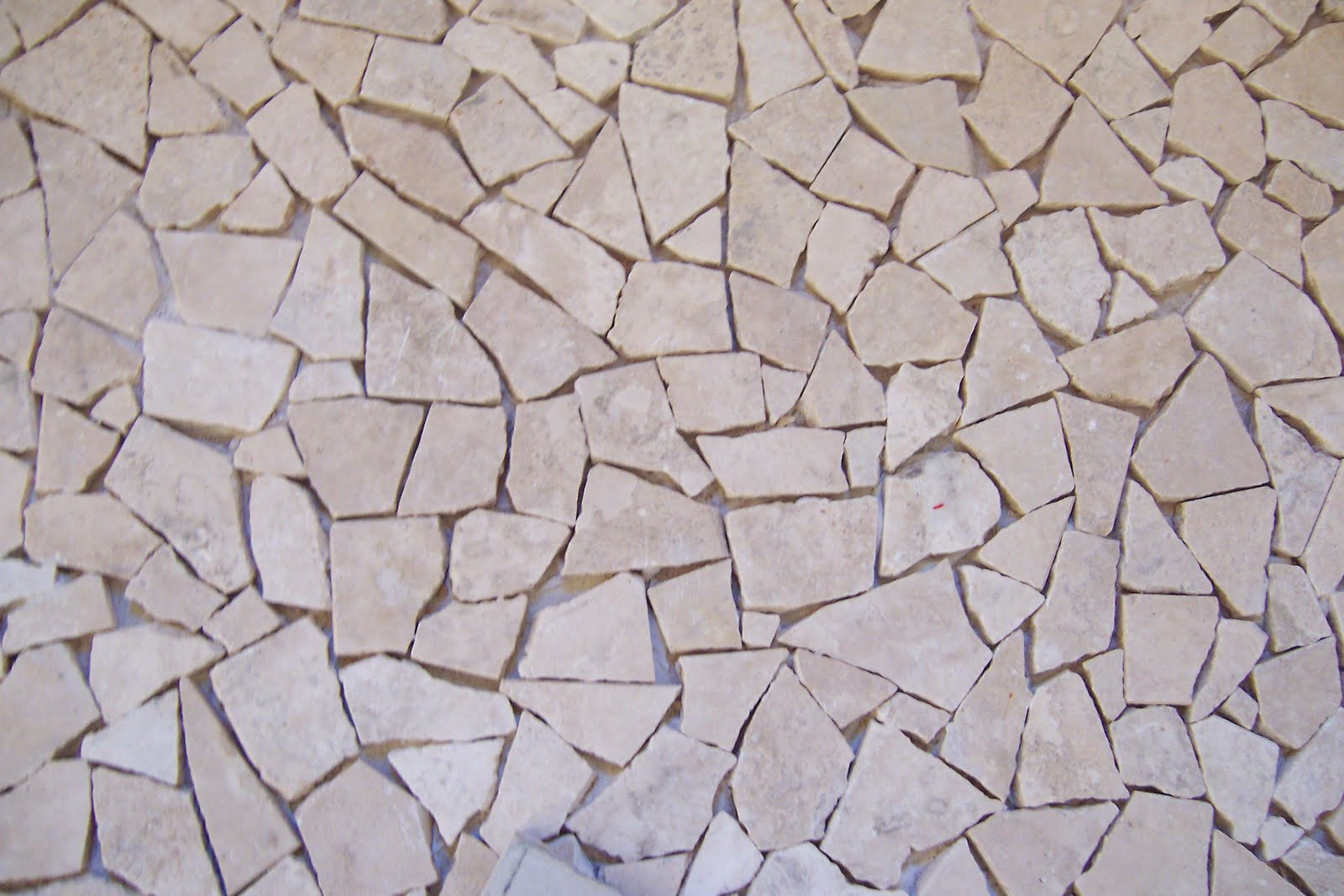 Recy Queen Recycled Stone Mosaic Flooring