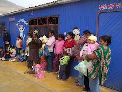 madres de los niños en Gramadales