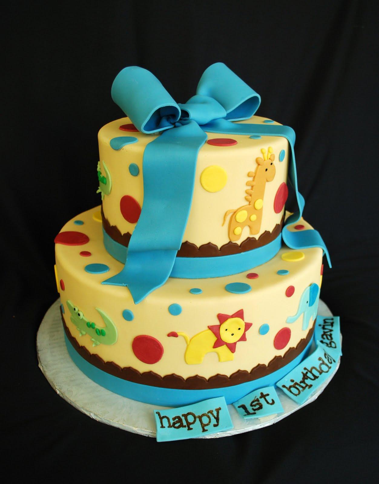 The Beehive Baby Animal Safari Cake
