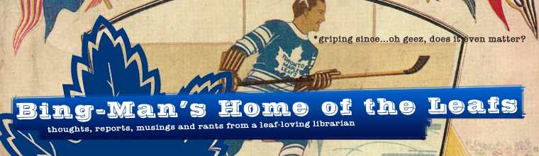 The Bing Man's Home of the Leafs
