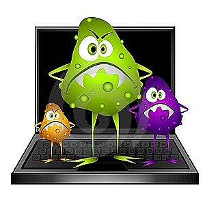 Nasty computer virus