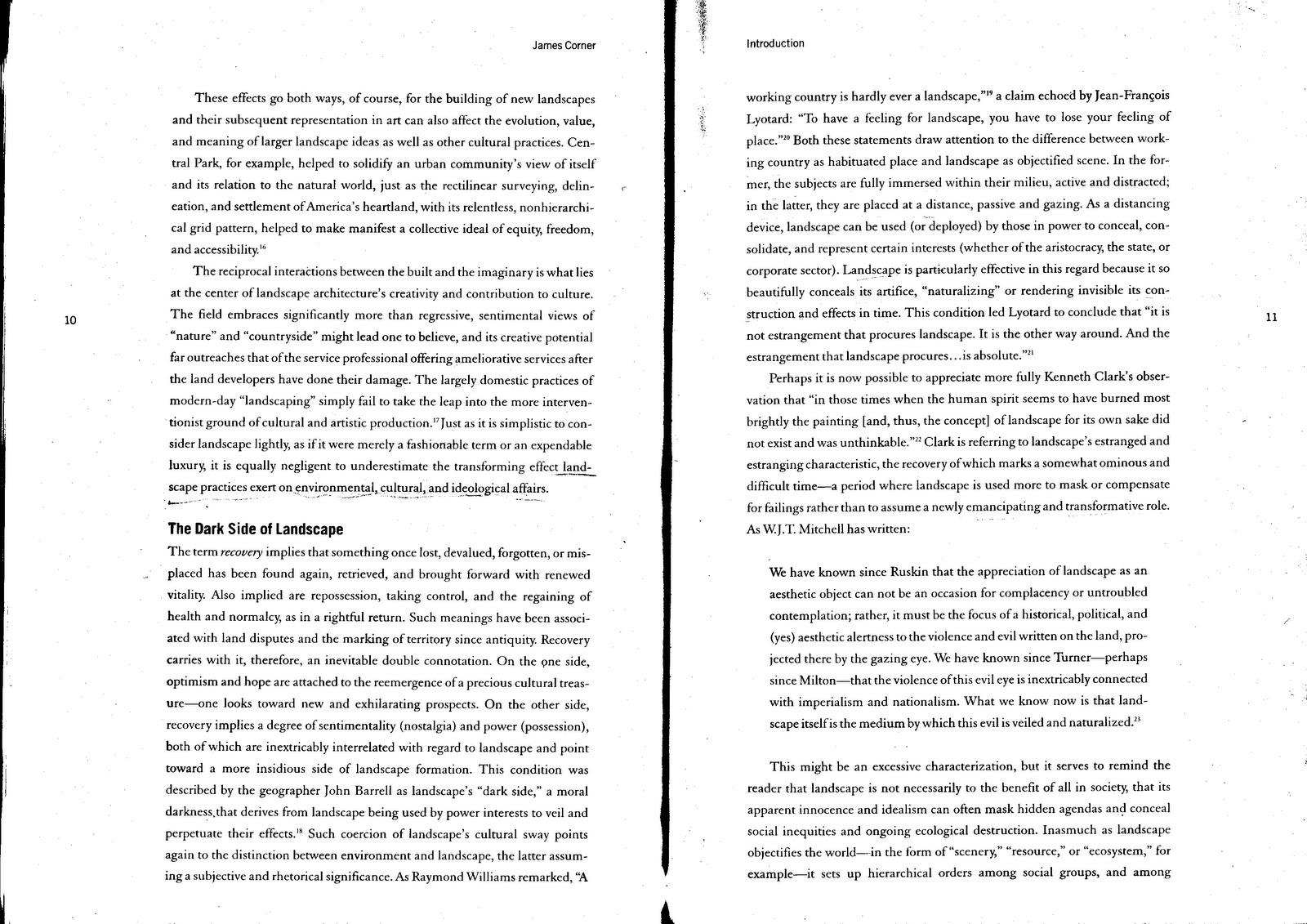 recovering landscape essays on contemporary landscape architecture