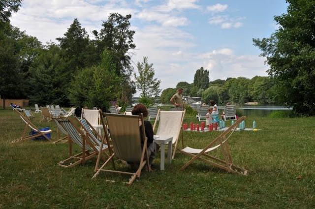 Evry Daily Photo - Seine de Vacances  Evry a l'heure d ete