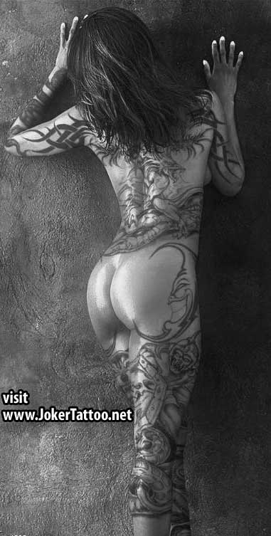 woman tattoo. Tattoos For Woman - Sexy