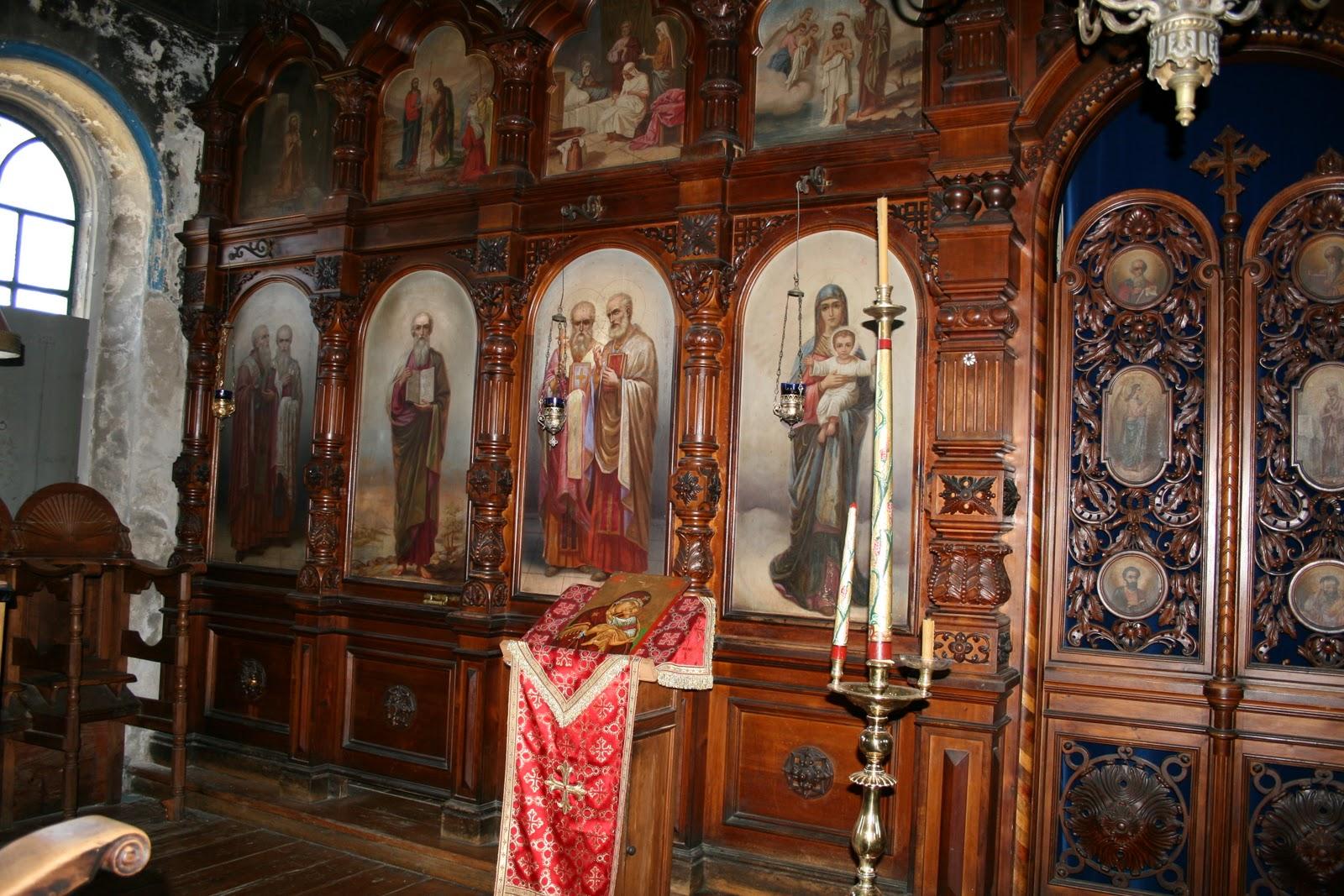 Mount Athos Chapel dans images sacrée