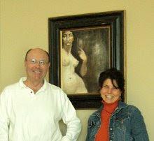 "fresco titled ""Woman & Wine"""
