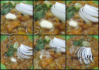 how to serve pav bhaji