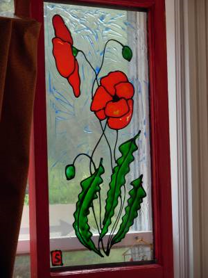 Glass painting easy to do glass painting ideas - Glass window painting ideas ...