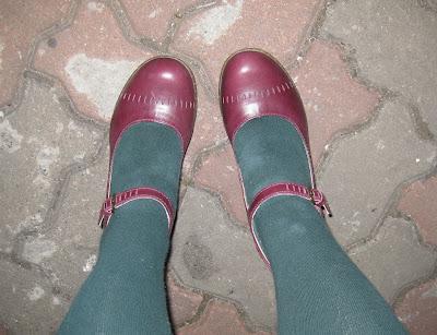 Black Shiney Mary Jane Toddler Shoes
