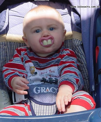 Weird and funny Pacifier for