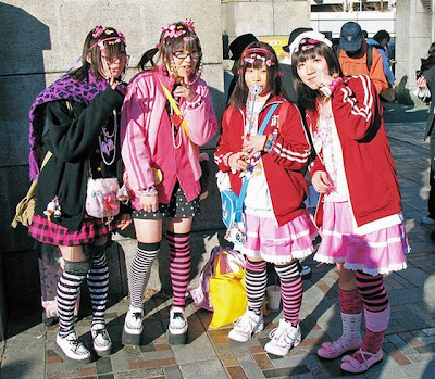 Harajuku Fashion on Harajuku Style As Unique Japanese Street Fashion Style