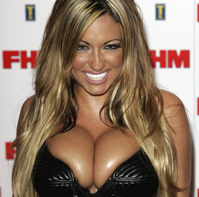 Jodie Marsh's breasts are the