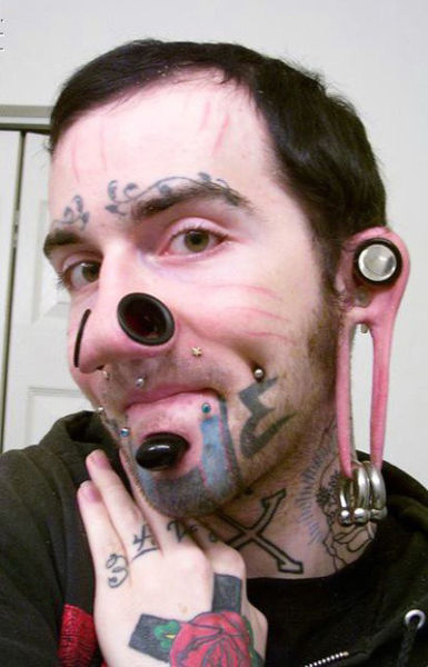 Extreme Body Modification People