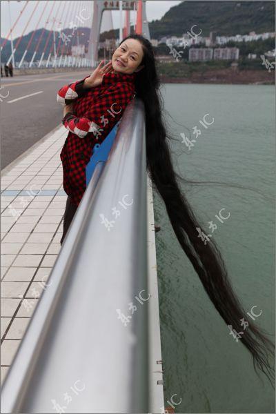 cheng shiqun woman with eight feet