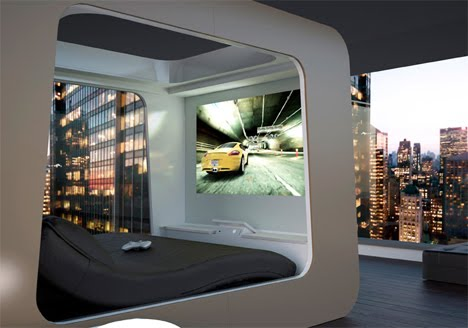 kissing games in bedroom. HiCan Futuristic Bed with
