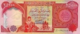 25,000 Dinar Iraq