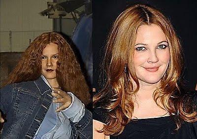 Drew Barrymore wax figure