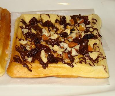 Receta del waffle