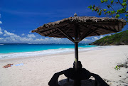 Macaroni Beach: Macaroni beach is located in Mustique island, . (macaroni )