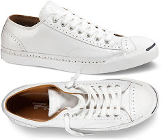 jack purcell broque leather sneakers