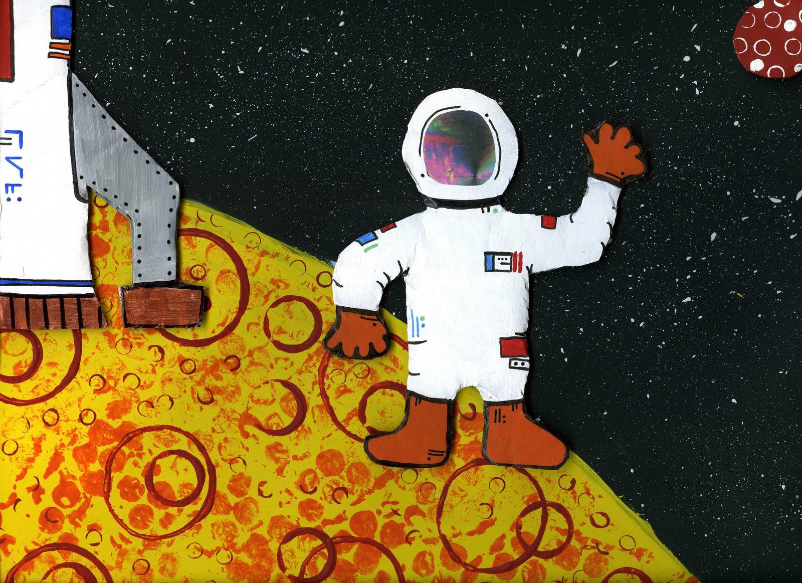 astronaut art project - photo #14