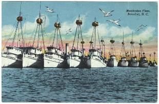 MENHADEN BOATS 1950s