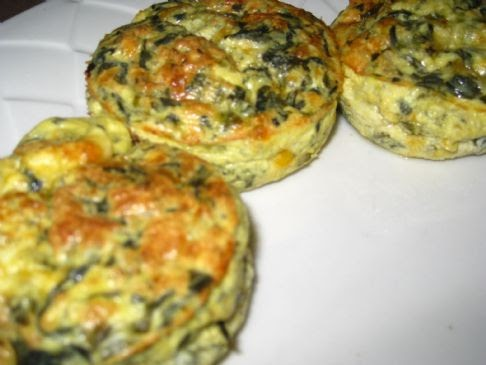 Fit & Easy Recipes: Crustless Spinach Quiche Muffins