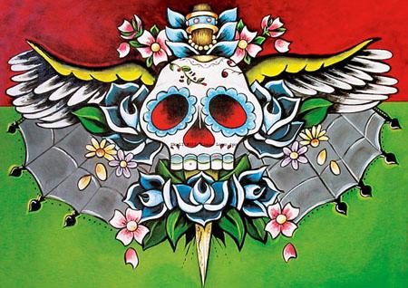 Sugar Skull Tattoo Pics