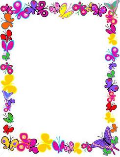 Frame Gambar Bunga