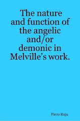 The nature and function of the angelic and/or demonic in Melville's work