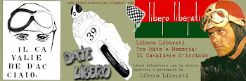 """BLOG del libro""""Libero Liberati Tra Mito e Memoria: Il Cavaliere d'Acciaio"""".Libro illustrato a china"""