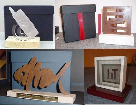 Esculturas Ericcson - Wincor - Tactis